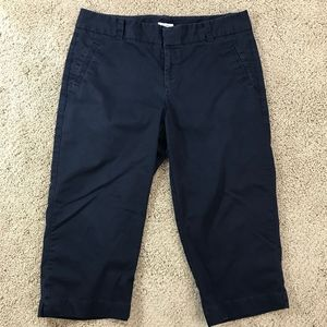 Dockers Black Capris Cropped Pants Size 16 H2